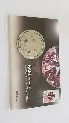 1 x Medallion Cover - Rare Beauties Extraordinary Gemstones 2017