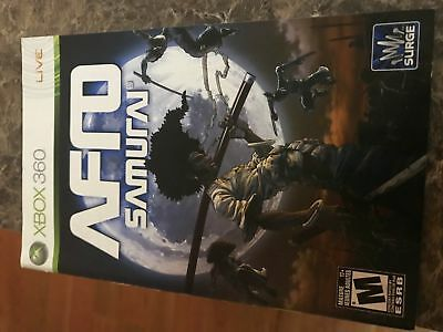 Afro Samurai - Xbox 360 - Instruction Manual Only