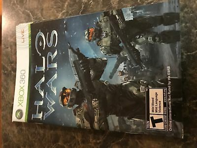 Halo Wars - Xbox 360 - Instruction Manual Only