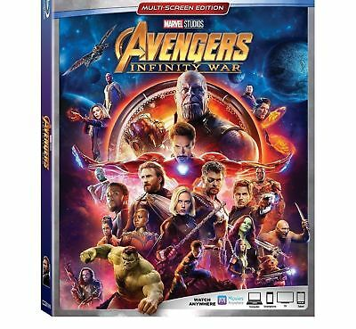 AVENGERS INFINITY WAR  - Blu-ray - NEW
