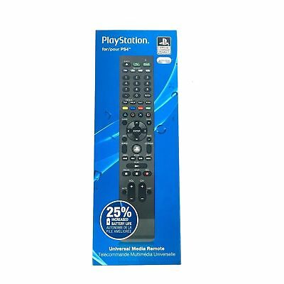 PDP Official PlayStation 4 Universal Media Remote for PS4 - BRAND NEW SEALED