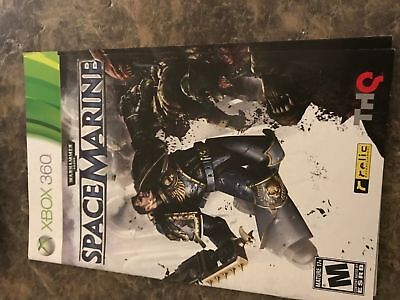Warhammer Space Marine - Xbox 360 - Instruction Manual Only