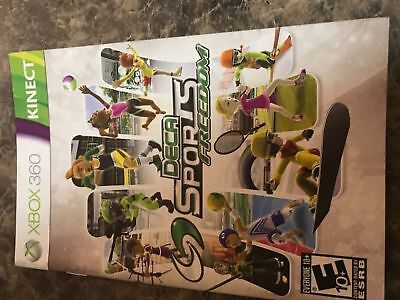 Deca Sports Freedom - Xbox 360 - Instruction Manual Only