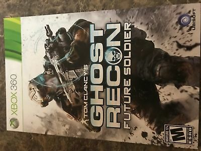 Ghost Recon Future Soldier - Xbox 360 - Instruction Manual Only