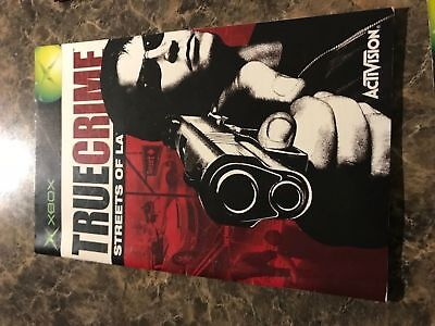 True Crime Streets Of La - Xbox - Instruction Manual Only