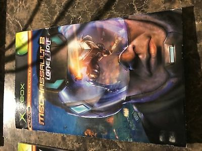 Mechassault 2 Lone Wolf - Xbox - Instruction Manual Only