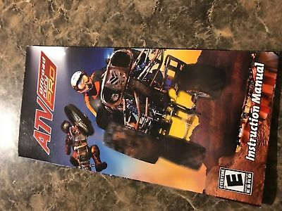 Atv Off Road Fury Pro - Playstation Psp - Instruction Manual Only