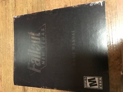 Fallout New Vegas - Playstation 3 - Instruction Manual Only