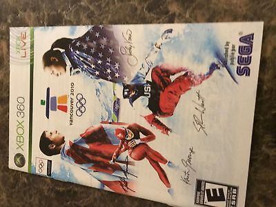 Vancouver 2010 Olympics - Xbox 360 - Instruction Manual Only