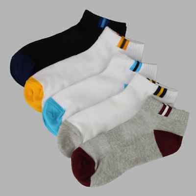 4X Pairs Mens Womens Trainer Liner Ankle Cotton Rich Sports Gym Socks UK LOT