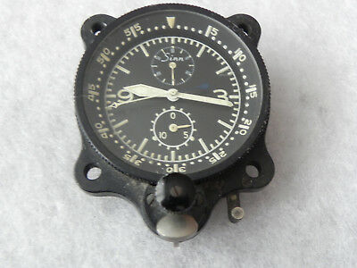 Borduhr SINN Valjoux Kaliber 551 - Militäruhr, Fliegeruhr - military watch army