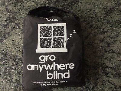 gro anywhere Travel Blackout Blind Good Condition