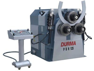 """NEW pipe / tube Bending Roll 3 Schedule 40, 3-1/2"""" OD model PBH 125 profile"""