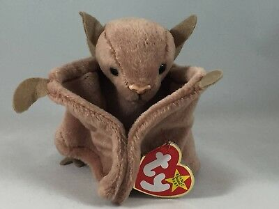 Ty Beanie Baby - Batty the brown bat (4035)