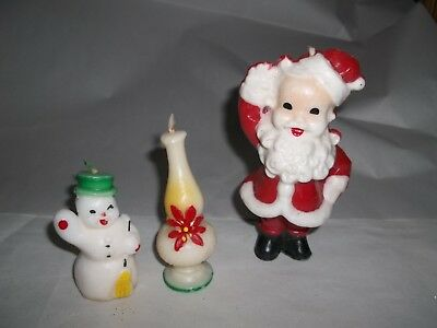 Vintage Christmas Gurley Candles