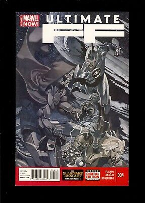ULTIMATE FF #4  1st MILES MORHAMMUS  NM or BETTER     COMIC KINGS