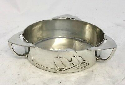 Super Liberty & Co Tudric Pewter Butter Dish Archibald Knox  0162
