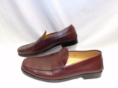 04e12c5adc9 TODS Mens LOAFERS SHOES Leather Drivers Burgundy Made in ITALY Size 11
