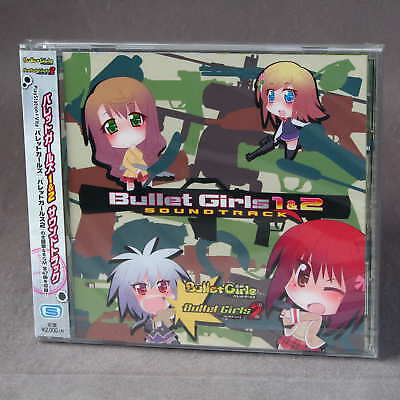 Bullet Girls 1 and 2 Soundtrack Sony PlayStation Vita Japan Game Music CD NEW