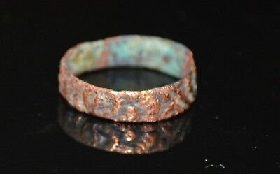 Bronze Medieval Ring - Found Metal Detecting In Britain