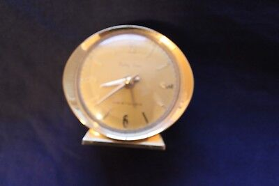 Baby Ben by Westclox Gold Colored Clock with Gold Face - Works