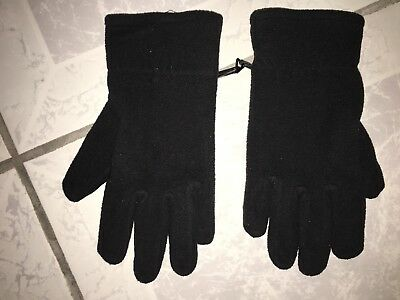 Cold Weather Fleece Thinsulate Insulation 40 Gram Gloves Winter Outdoor Cool M/L