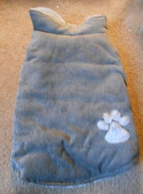 Cordoroy Dog Sweater Size Medium
