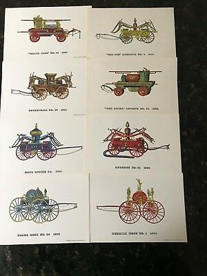 antique fire apparatus prints (8)