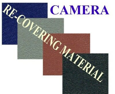 Camera Body Re-Covering Material Grey Self Adhesive
