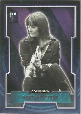 Dr. Who (Doctor Who) TOPPS (2015)  Tardis variant  card SARA KINGDOM card #45