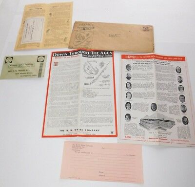 1930's  H.N. White King Band Instruments Brochures