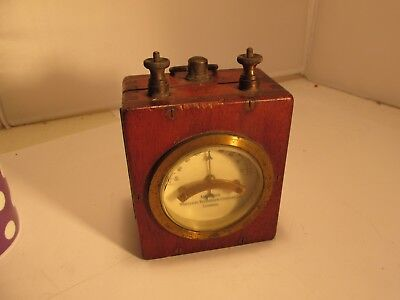 marconi   wooden and brass gadget c1900?