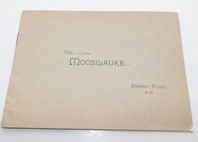 1890's Breezy Point New Hampshire Moosilauke House Resort Brochure Booklet