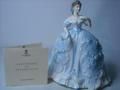 Royal Worcester THE FIRST QUADRILLE Figurine 6 Photos Enchanted Evenings RW4538
