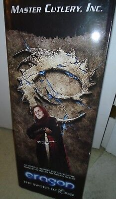 Eragon The Sword of Durza pre owned IN THE BOX Hard To Find 32'' IN LENGTH