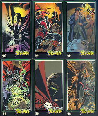 Complete set of Spawn Wildstorm oversized trading cards 152 card set Plus Extras