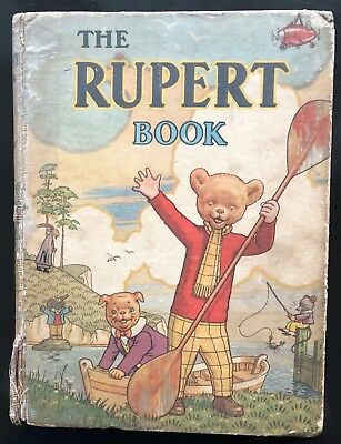 RUPERT BEAR ANNUAL 1941 ORIGINAL Inscribed G/VG EXAMPLE JANUARY SALE