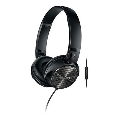 Philips: On ear Noise Cancellation Headphones With Mic
