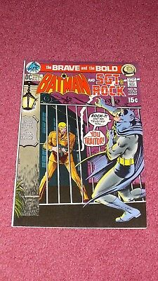 BRAVE AND THE BOLD #96 - Sgt. Rock,  VF 8.0, HIGH GRADE (1971)