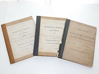 1923, 1936, 1937 NYCRR as Lessee of Boston & Albany Railroad Annual Reports