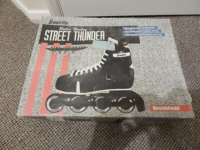 Roller Blades: STREET THUNDER SH COMP 7127: New and unused.