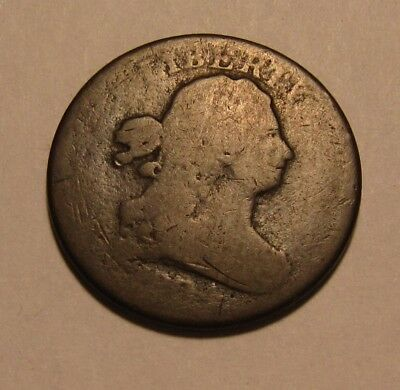 1804 Draped Bust Half Cent Penny - Circulated Condition - 36SU-2