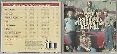 Creedence Clearwater Revival  Best of Bad Moon Rising NEW CD Album Greatest Hits