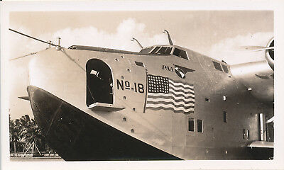 1930s Pan Am Clipper airplane Hawaii photo No 18 CA  Clipper/ Pacific Clipper