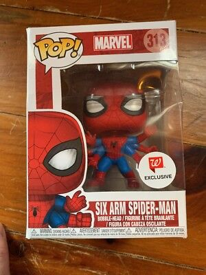 Funko POP! Six Arm Spider-Man #313 Marvel Walgreens Exclusive