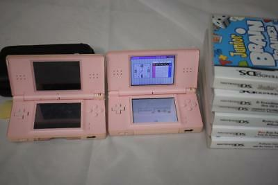 Nintendo DS Bundle 2 Console and 6 Games