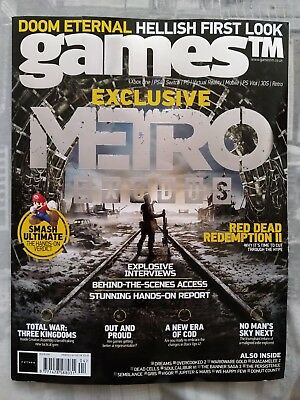 GamesTM Magazine #204 October 2018 (Metro Exodus exclusive, Red Dead Redemption)