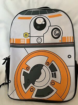 Star Wars BB8 Astromech Droid 16 inch Toddler Backpack w  Side Mesh Pockets    FX cea3bf66c6ca5