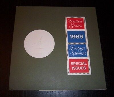 1969 USPS SPECIAL ISSUES MINT YEAR SET  w/ FOLDER  HTF HIGH CATALOG VALUE