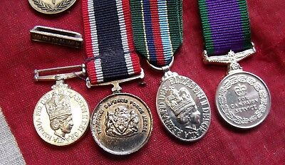 5 Different Miniature medals all in pictures NO RESERVE.